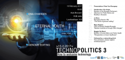Uitnodiging Technopolitics 3: Eternal Youth - 15/02 - VUB Jette