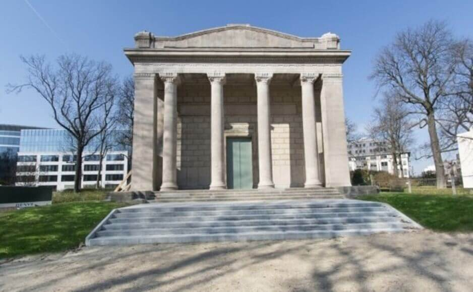 Le pavillon Horta-Lambeaux remis à l'honneur, mais une période d'accès restreinte
