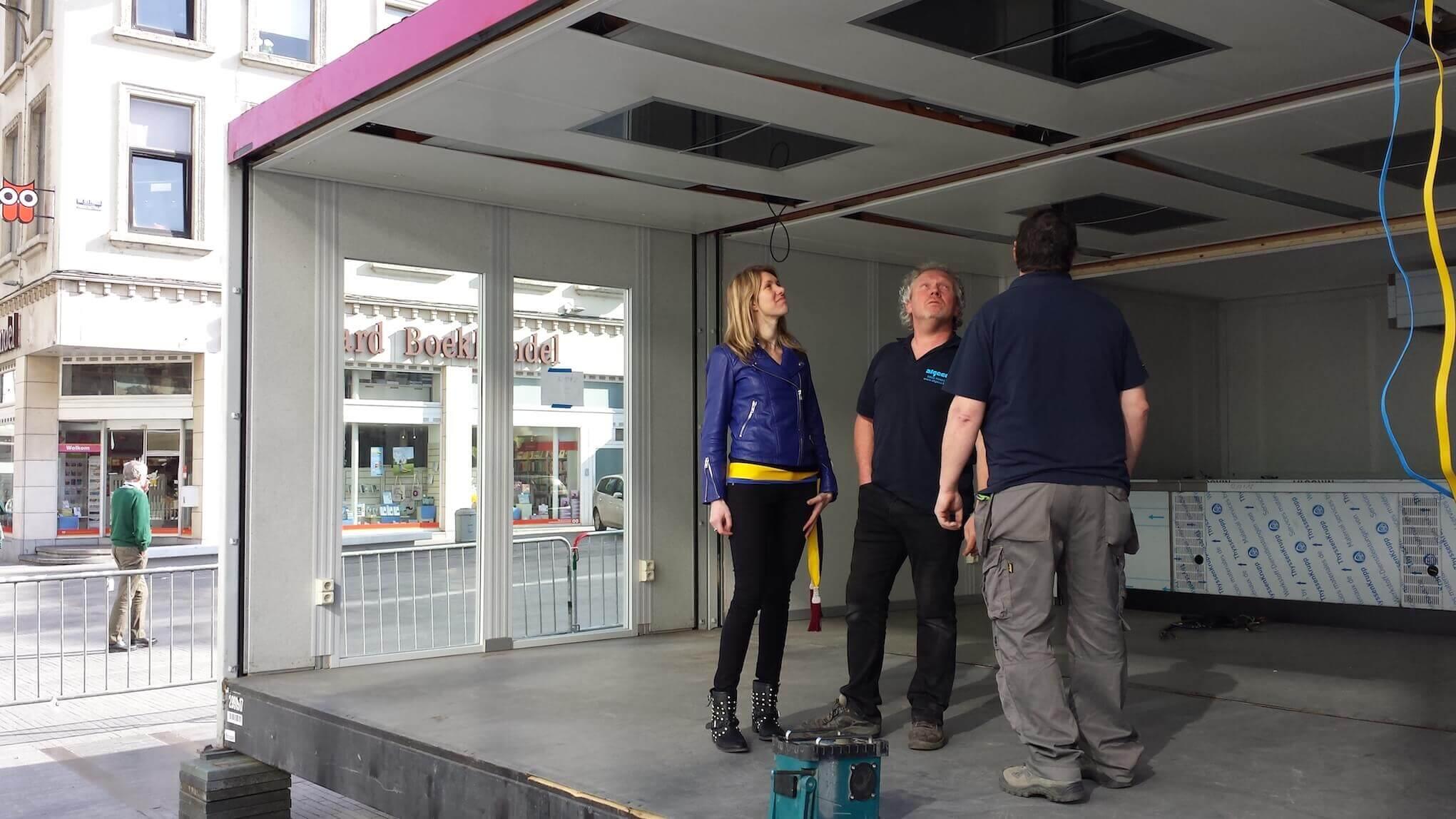 Stad Brussel verwelkomt Mijn Pop-uprestaurant