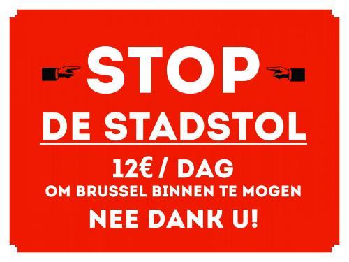 « Non au péage urbain bruxellois, oui à plus de métro! »