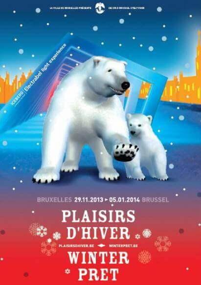 De Stad Brussel maakt een heel positieve balans op van de twaalfde editie van Winterpret.