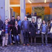 """Els Ampe en haar team doen hun duit in het zakje bij """"Bij Ons/ """"Chez Nous"""""""