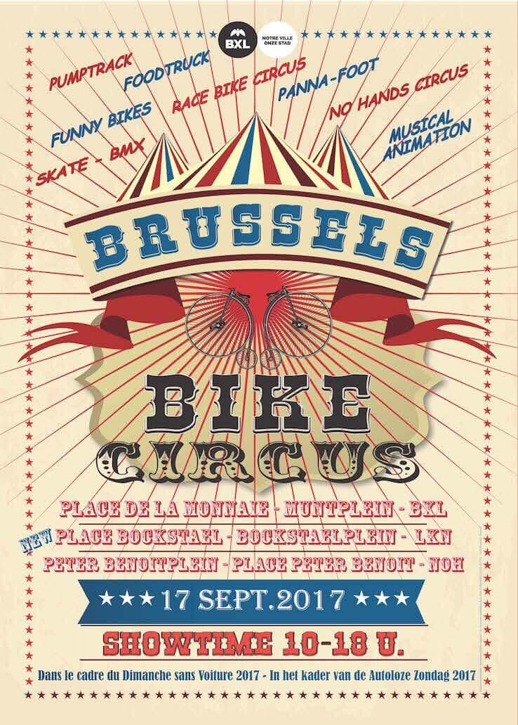 La place Bockstael se transforme en Bike Circus