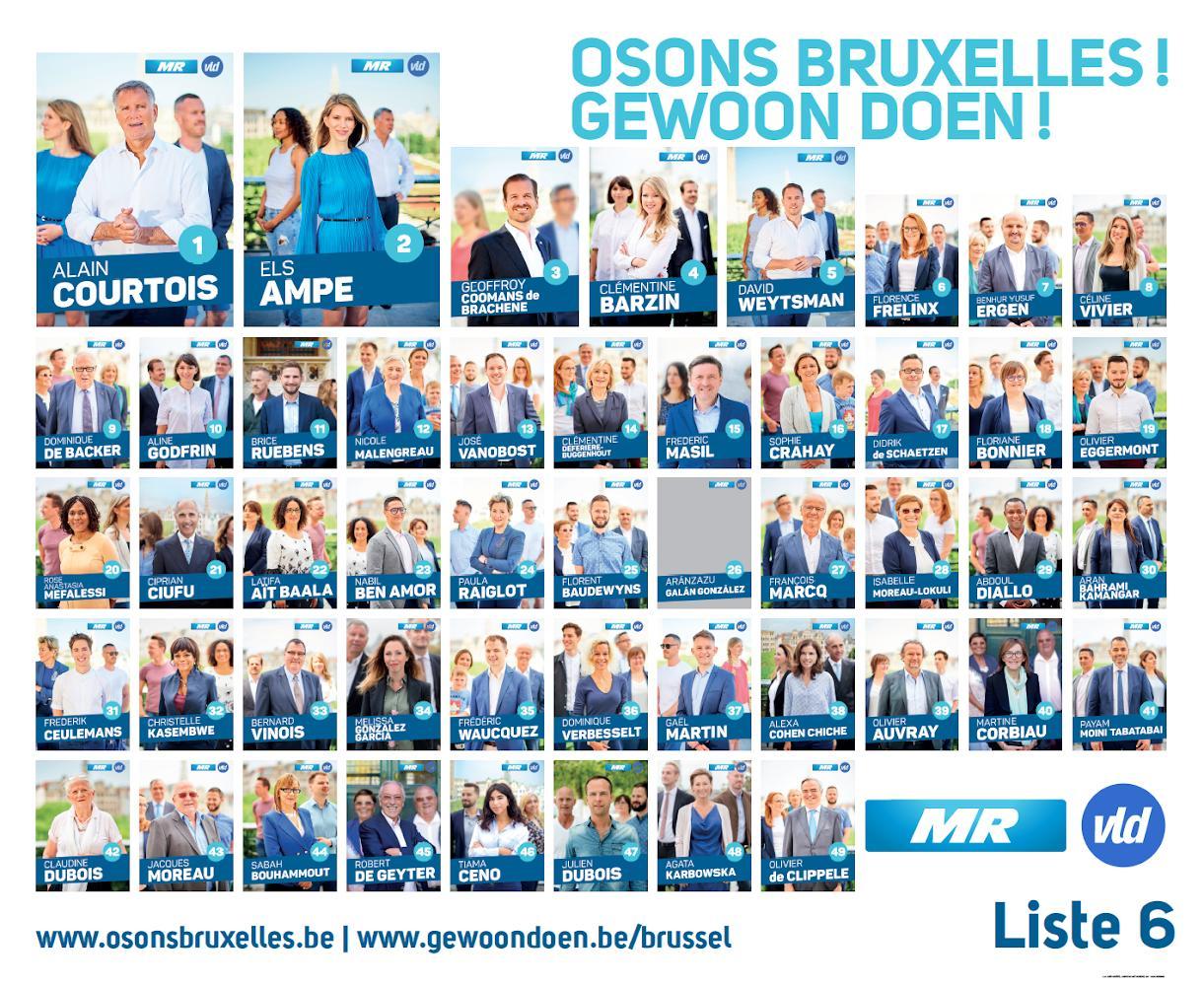 Tout nos candidats et notre programme