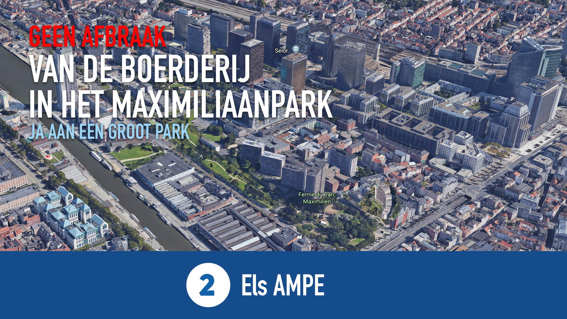 Het Maximiliaanpark morgen ...