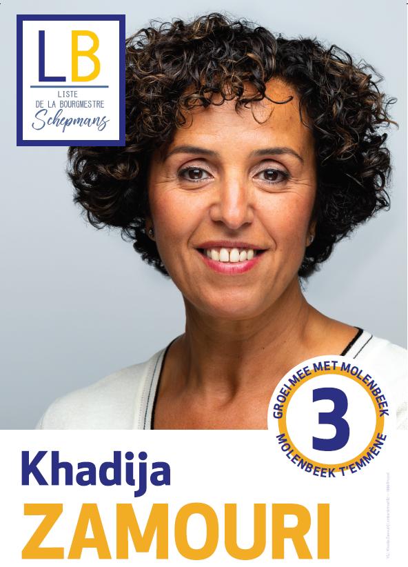 Khadija Zamouri verkozen als gemeenteraadslid in Sint-Jans-Molenbeek