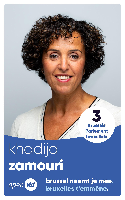 Khadija neemt je mee