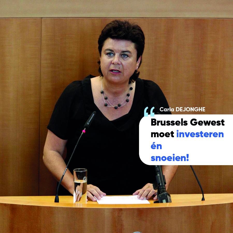 """Brussels gewest moet investeren én snoeien!"""