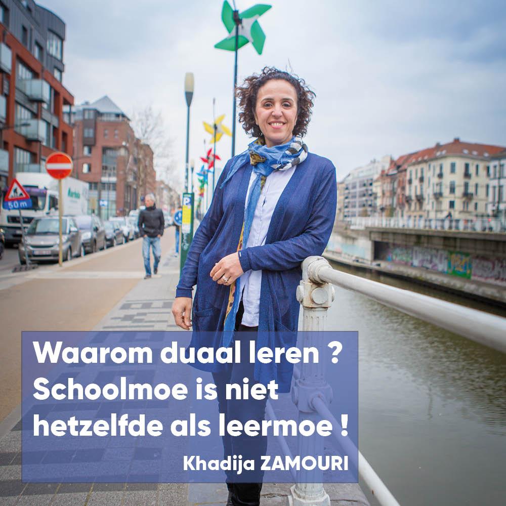 """Zamouri komt op voor duaal leren - """"Schoolmoe is niet hetzelfde als leermoe"""""""