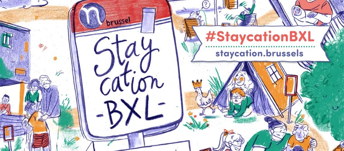 Des vacances d'été inoubliables par et pour les Bruxellois