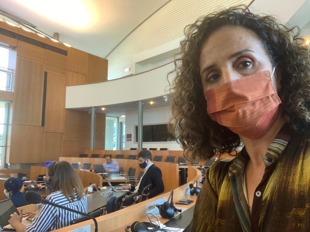 Khadija Zamouri waakt over de bescherming van onze persoonsgegevens