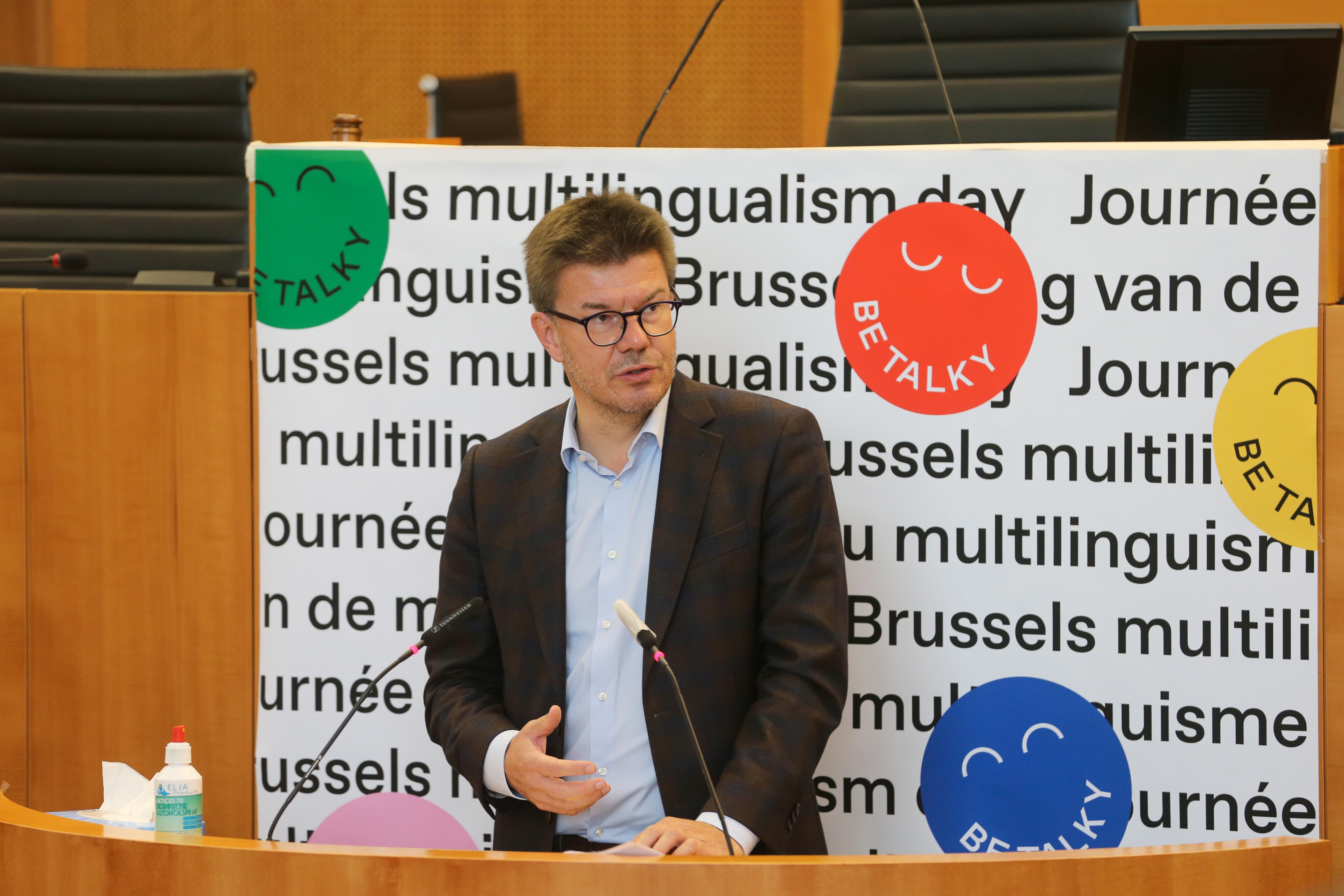 Een terugblik naar de eerste Brusselse dag van de Meertaligheid.