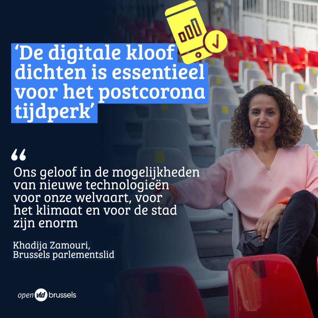 Khadija Zamouri over de week van de Artificiële Intelligentie (AI): Van de politiek wordt verwacht dat we de digitale kloof dichten.