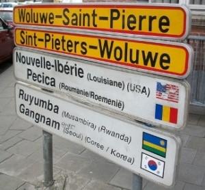 Vlaamse zustergemeente voor  Sint-Pieters-Woluwe?