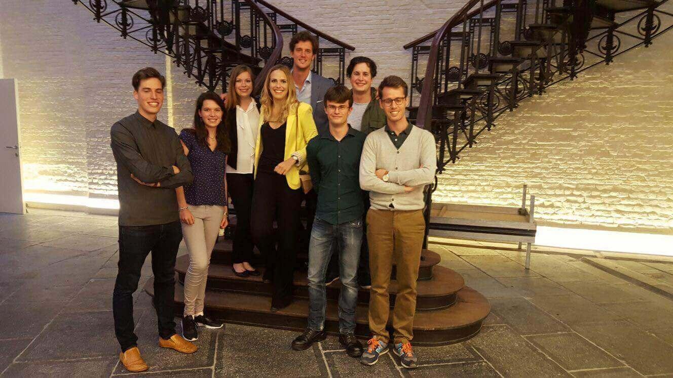 Nieuw bestuur Jong Vld Brussel van start