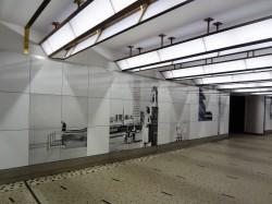 Hoe de gerenoveerde gang van Centraal Station beschermen? Sluit hem s 'nachts af!