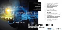 Uitnodiging Technopolitics 3: Eternal Youth - 15/02 - VUB Jette