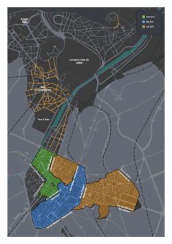 Stad Brussel kiest voor witte straatverlichting