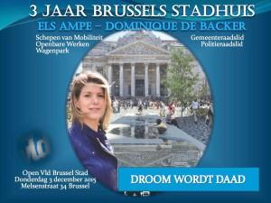 Drie jaar Brussels stadhuis - Droom wordt daad