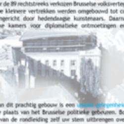 Bezoeken en rondleidingen Brussels Parlement