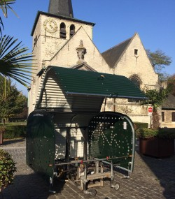 1ste fietsbox in Haren