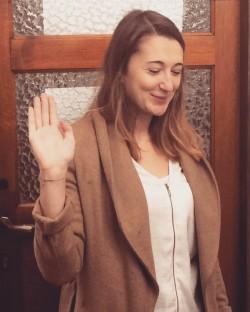 Mimi Crahaij legt eed af als OCMW-raadslid van Ganshoren