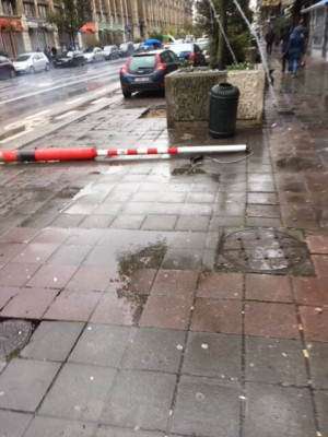 Stad Brussel verhaalt schade op vandalen
