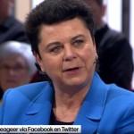 Carla Dejonghe in debat over singles van 'De zevende dag'