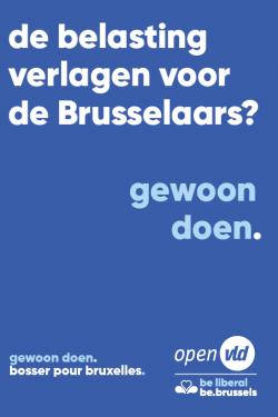 Brusselse personenbelasting is de laagste van het land