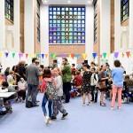 Officiële opening Tienerschool Porta 1070
