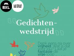 Stad Brussel lanceert tweede gedichtenwedstrijd samen met poëziecentrum