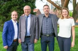 Mimi Crahaij en Erik Van Den Berghe voor Open Vld in Gemeenteraad van Ganshoren