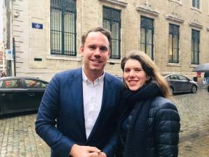 Els Ampe en David Weytsman covoorzitters MR-Vld-fractie in Stad Brussel