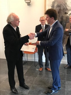 Philippe Herreweghe krijgt ereteken Officier in de Leopoldsorde