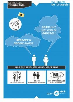 In Brussel leren veel mensen Nederlands