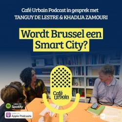 Café Urbain Podcast: Kan Brussel een Smart City worden?