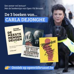 De boekentips van Open Vld Brussel met Carla Dejonghe