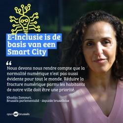 E-inclusie als basis voor een Smart City