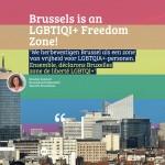 Le Parlement bruxellois déclare Bruxelles, zone de libertés LGBTQIA+