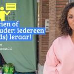 'Een Rutteke doen' - Khadija Zamouri vraagt aan werkende Brusselaars om deeltijds les te geven.