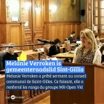 Melanie Verroken rejoint le conseil communal de Saint-Gilles