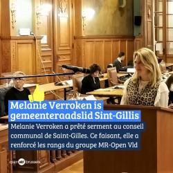 Melanie Verroken treedt toe tot gemeenteraad Sint-Gillis