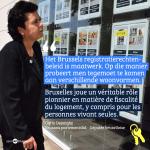 """""""Brussel speelt een echte voortrekkersrol wat betreft woonfiscaliteit, ook voor alleenwoners"""" (Carla Dejonghe)"""