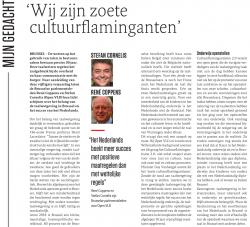 50 jaar taalwetten in bestuurszaken - opinie Coppens & Cornelis