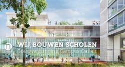 #wijbouwenscholen  Bouwvergunning Campus Gaillat : nieuwe plaatsen voor 1.140 leerlingen