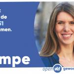 Reactie Els Ampe op verkiezingsuitslag