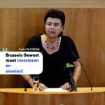 """Carla Dejonghe (Open Vld): """"La Région bruxelloise doit investir et élaguer!"""""""