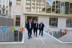 Sven Gatz opent nieuw gebouw GO! Basisschool Balder in Sint-Gillis