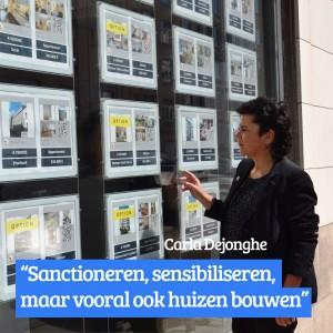 """Carla Dejonghe over discriminatie van huurders in Brussel:  """"Sanctioneren, sensibiliseren,  maar vooral ook woningen bouwen"""""""