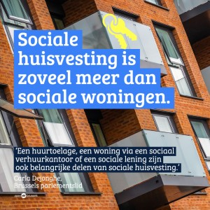 Carla Dejonghe - Sociale huisvesting is niet gelijk aan sociale woningen